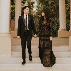 Tadashi lace dress